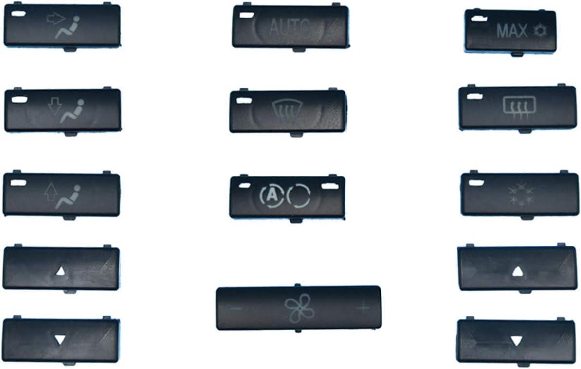 BMW E39 E53 525i 530i 540i M5 X5 Replacement Climate A//C Control Panel Buttons