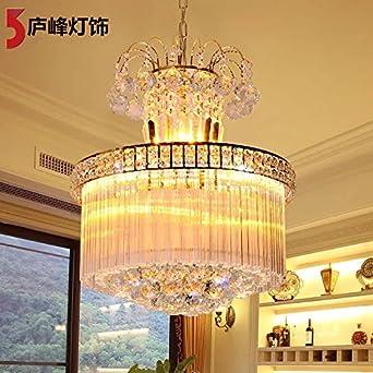 BBSLT Moderno e semplice cerotto lampadario di Cristallo s Golden ...