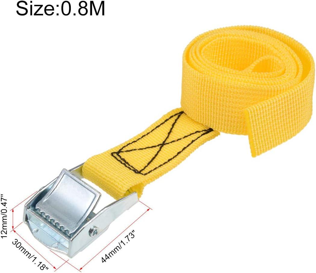 Sourcingmap Correa de sujeci/ón con hebilla de bloqueo de leva 250 kg de carga de trabajo