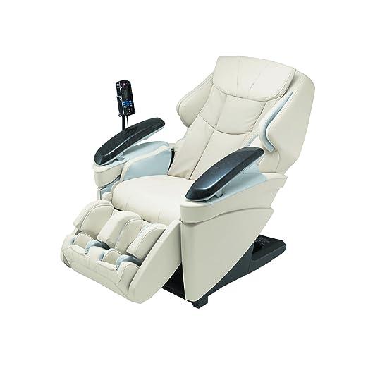 Panasonic EP Real Pro Luxury Heated Massage Chair, Ultra, MA70CX, Ivory