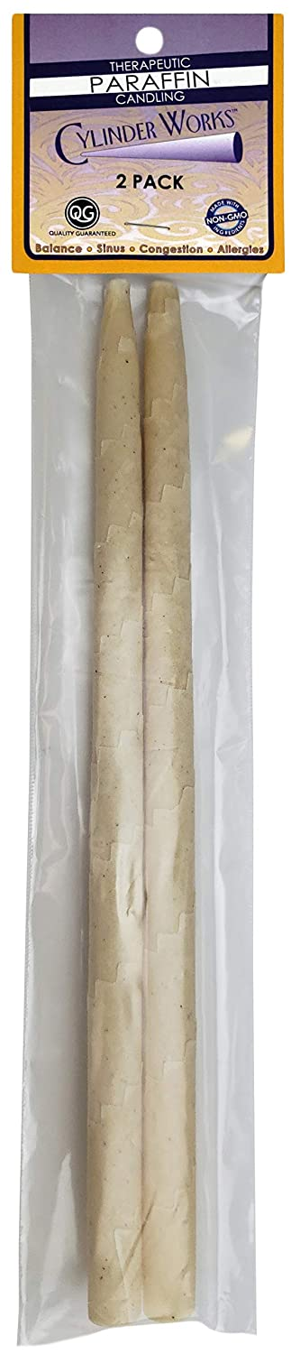 Cylinder Works Incense Candles, Natural Paraffin, 2 Pack 2pack