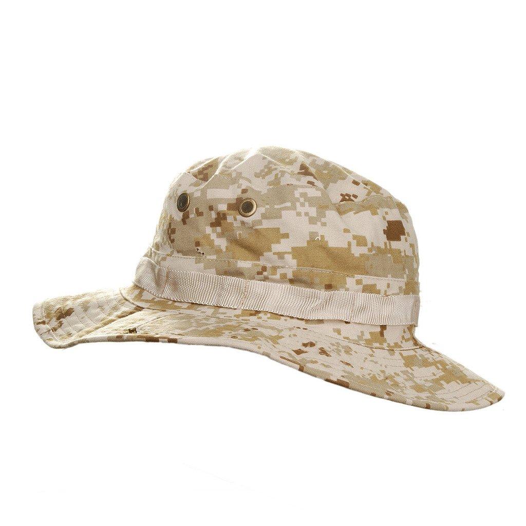 MerryBIY Sombrero de la Pesca Gorra Jungle Hat Pescador Gorro Para  Mountaineer Campamento Redondo Adumbral Sombrero Camuflaje Estilo Deporte  Cap Hat Para al ... 0ec8a053914