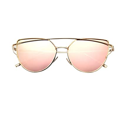 28a3bde04a CGID Cat Eye Sunglasses Women Modern Fashion Mirror Polarized Oversized  Goggles UV400