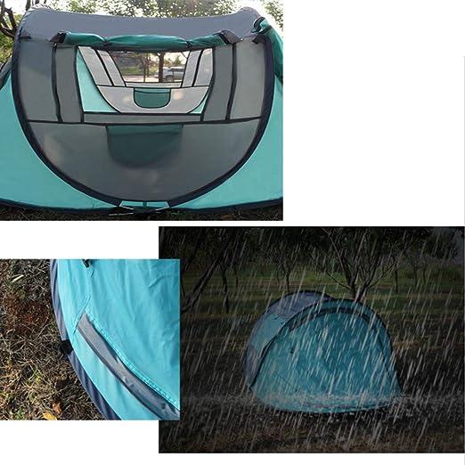 Outdoor 3-4Persons Automatische Geschwindigkeit /Öffnen Werfen Pop Up Winddicht Wasserdicht Strand Zelt Gro/ße Fl/äche 290 x 200 x 130 cm dylisy Outdoor Wurfzelt