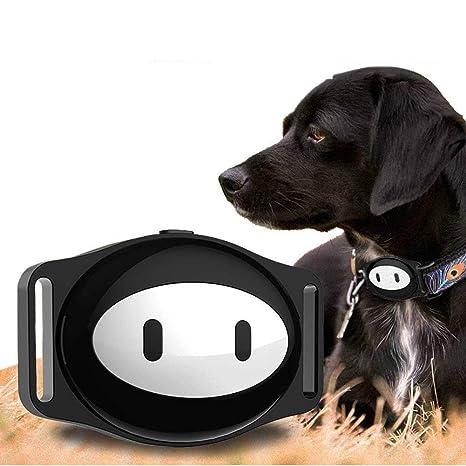 DJLOOKK Rastreador de ubicación GPS de Perros, Monitor de Actividad con Voz remota, Buscador