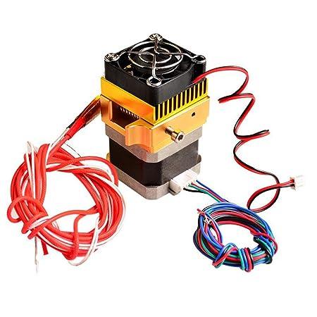 MongKok - Accesorios para Impresora 3D, MK8, Cabezal extrusor de ...