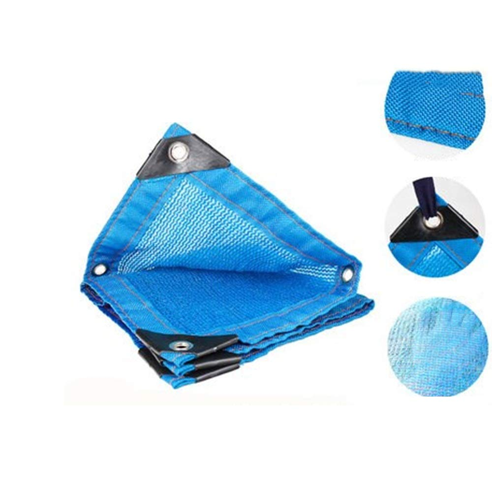 Tenda da sole Tendalino Parasole, pensilina per Esterno, Rete a Maglie solari a 6 Spille, Copertura per Piante, Copertura per ombrelloni per Animali Domestici (Dimensioni   8  10m)