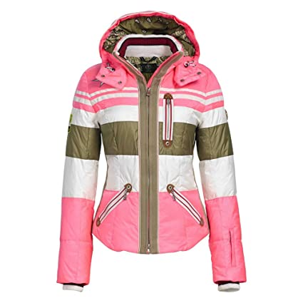 Amazon.com   Bogner Women s Dalila Jacket Extra Small Hot Pink (X ... 2329f3a1b