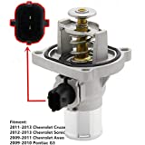 Coolant Thermostat Housing Tracker for GM 2011-2013 Chevrolet Cruze, 2009-2011 Chevrolet