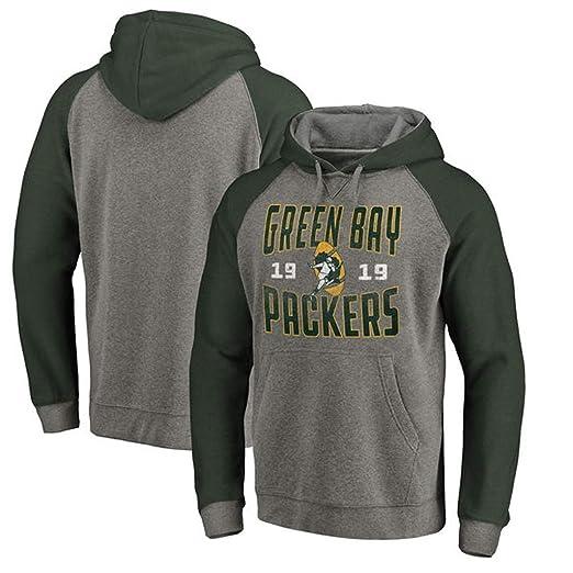 WLDSH Traje de Entrenamiento de Rugby Green Bay Packers Sudadera ...