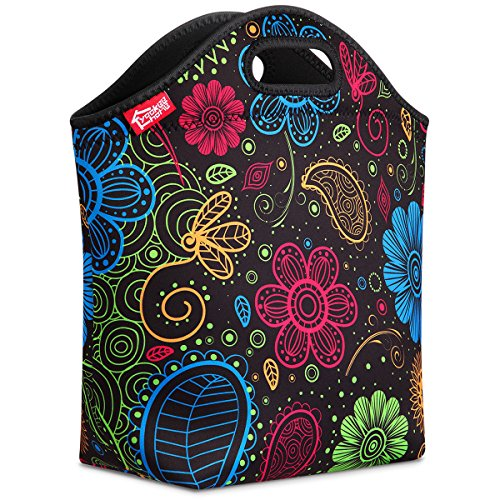 Large Neoprene Lunch Tote, 14