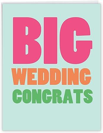 Congratulations card wedding men wedding card with envelope