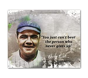 Babe Ruth Quotes Wall Art, 8