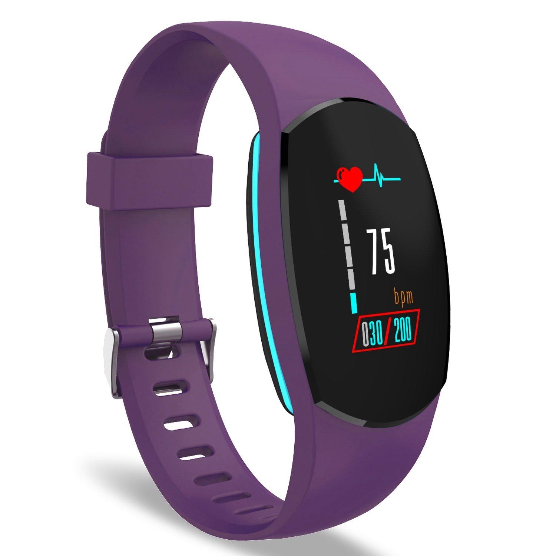 YoYoFit Egg Pulsera de Actividad Inteligente, Impermeable IP67 Pulsómetros de Muñeca Pulsera Fitness Tracker, Pantalla Táctil a Color Reloj Presion ...