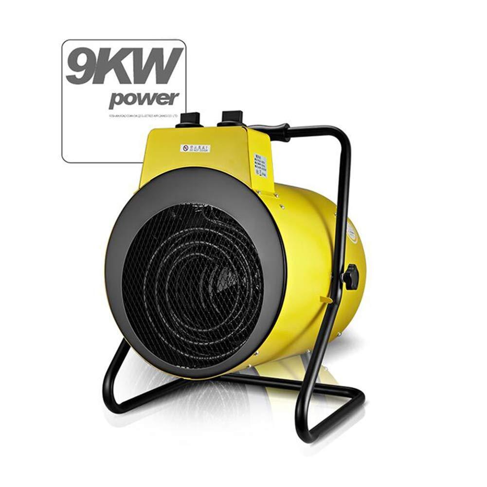 EXAB Hornos Electricos 5Kw//9Kw 380V Trif/ásico Ventilador PTC Acero Inoxidable Cer/ámica Industrial 3 Ajustes