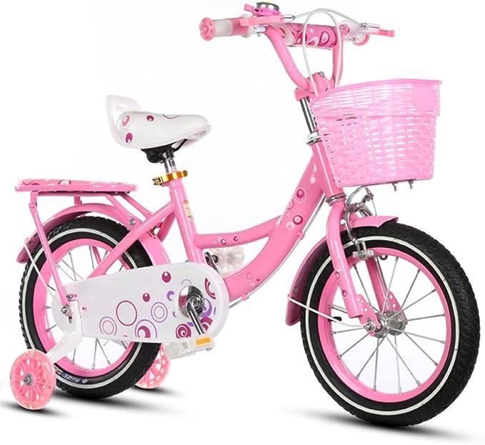 ZCRFY Niños Bicicletas Niñas Estudiante Pequeños Bebé Bicicleta ...