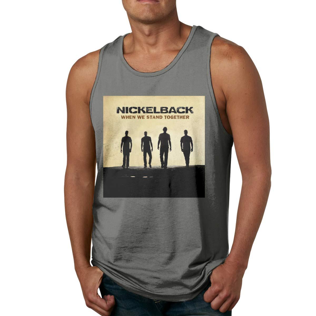 S Sport Gym Tank Tops Nickelback Sleeveless T Shirts
