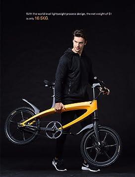 Marca nueva, Lehe S1 luz peso, Eléctrico De Aluminio Pedal ayudar bicicleta