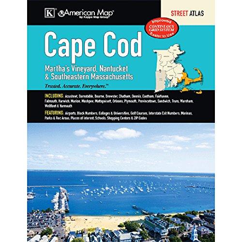 Cape Cod, Martha s Vineyard, Nantucket & Southeastern Massachusetts Street Atlas