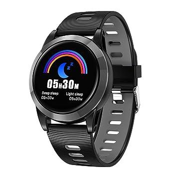 VECDY Smartwatch, Actividad de Ritmo Cardíaco Contador de Pasos ...