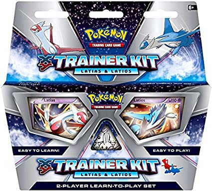 Amazon Com Tcg Xy Latias And Latios Trainer Card Game Toys Games