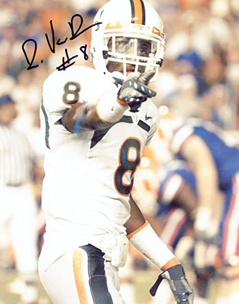 Autographed Demarcus Van Dyke Photo -  8 UM 8x10 W COA - Autographed ... 2c9ac2eea