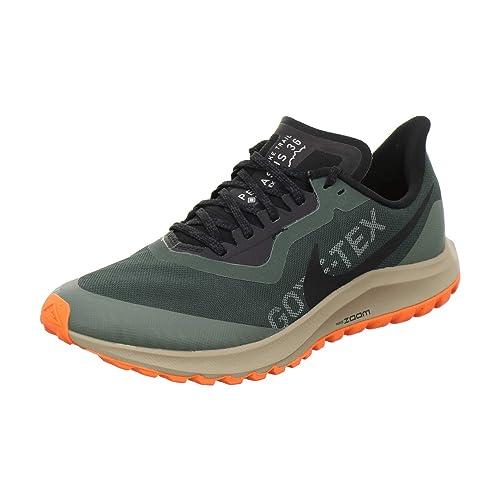 Nike Zoom Pegasus 36 Trail Herren Laufschuh GrünSchwarz