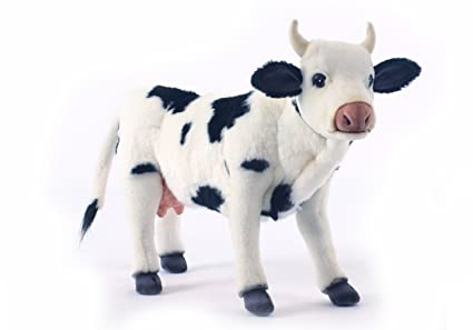 Image Unavailable. Image not available for. Color  Hansa Cow Plush ... 7a750aedb2