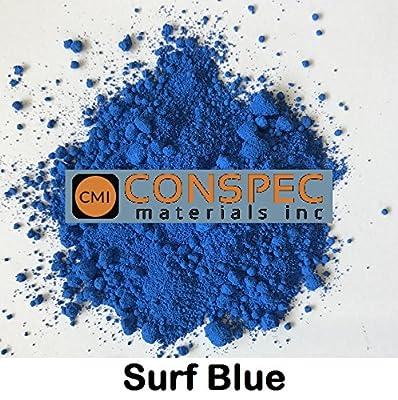 Conspec 2-oz SURF BLUE Powdered Color for Concrete, Cement, Mortar, Grout, Plaster
