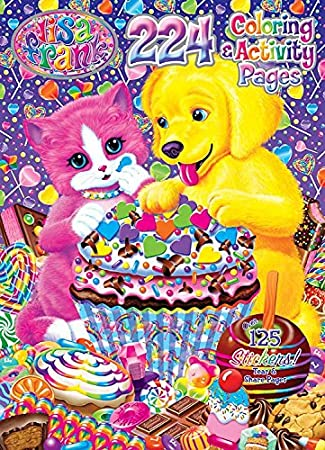 Bendon Lisa Frank Artist Pad Bendon Inc 27033