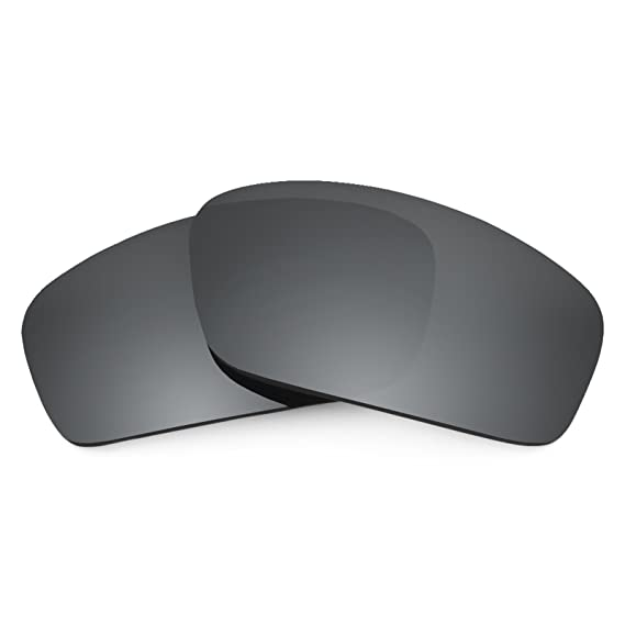 8245c0851a6 Revant Polarized Replacement Lenses for Oakley Splinter Black Chrome  MirrorShield®  Amazon.co.uk  Clothing