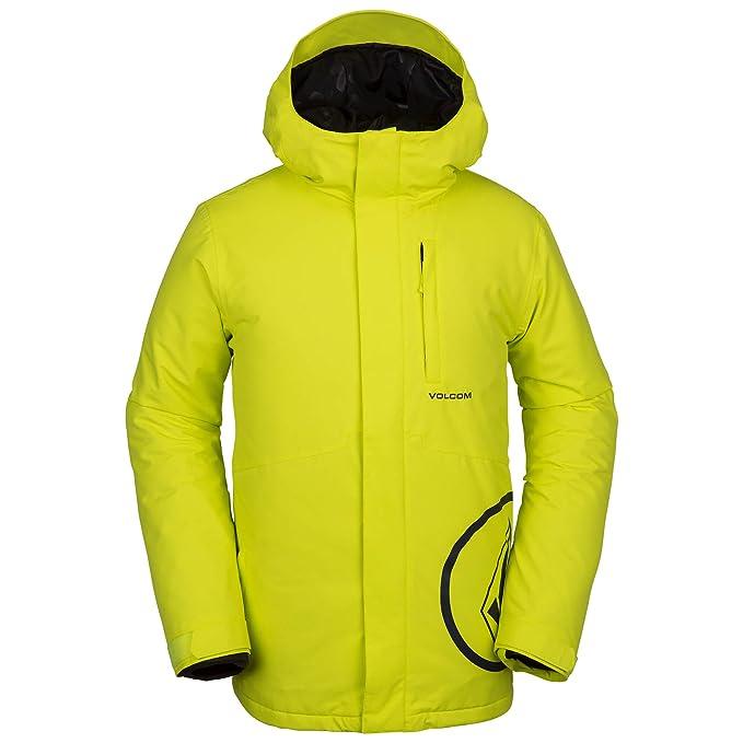 Abrigo de esquí Volcom amarillo neón