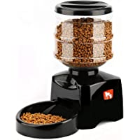 Gather together New 5.5l Automatic Pet Feeder with Voice Message Recording and LCD Screen Large Smart Dogs Cats Food…