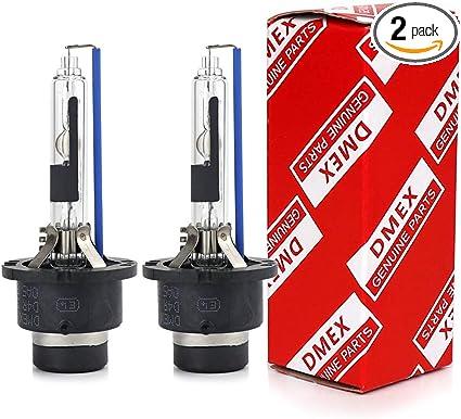 12000LM Faros Reemplazar para Kit de Conversi/ón de HID Xenon,12V 35W 2 Piezas D4S 6000K Bombillas LED