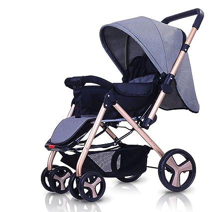 Amazon.com: SI YU - Carrito reclinable de lujo para bebé, de ...