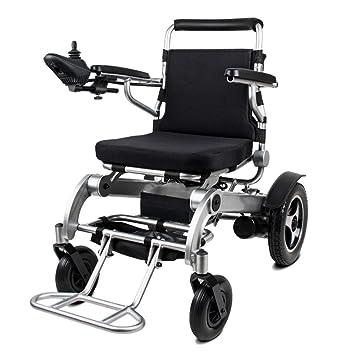 Amazon.com: YOLANDEK - Silla de ruedas eléctrica plegable ...