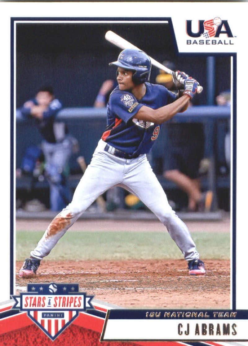 2019 Panini Stars and Stripes Longevity Base Baseball #38 Jared Kelley USA Baseball 18U National Team Officially Licensed Trading Card