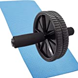 FONESO Roller Wheels Abdominal Exercise Equipment Ab Roller Anti-Slip Handles Workout Wheel Fitness Roller