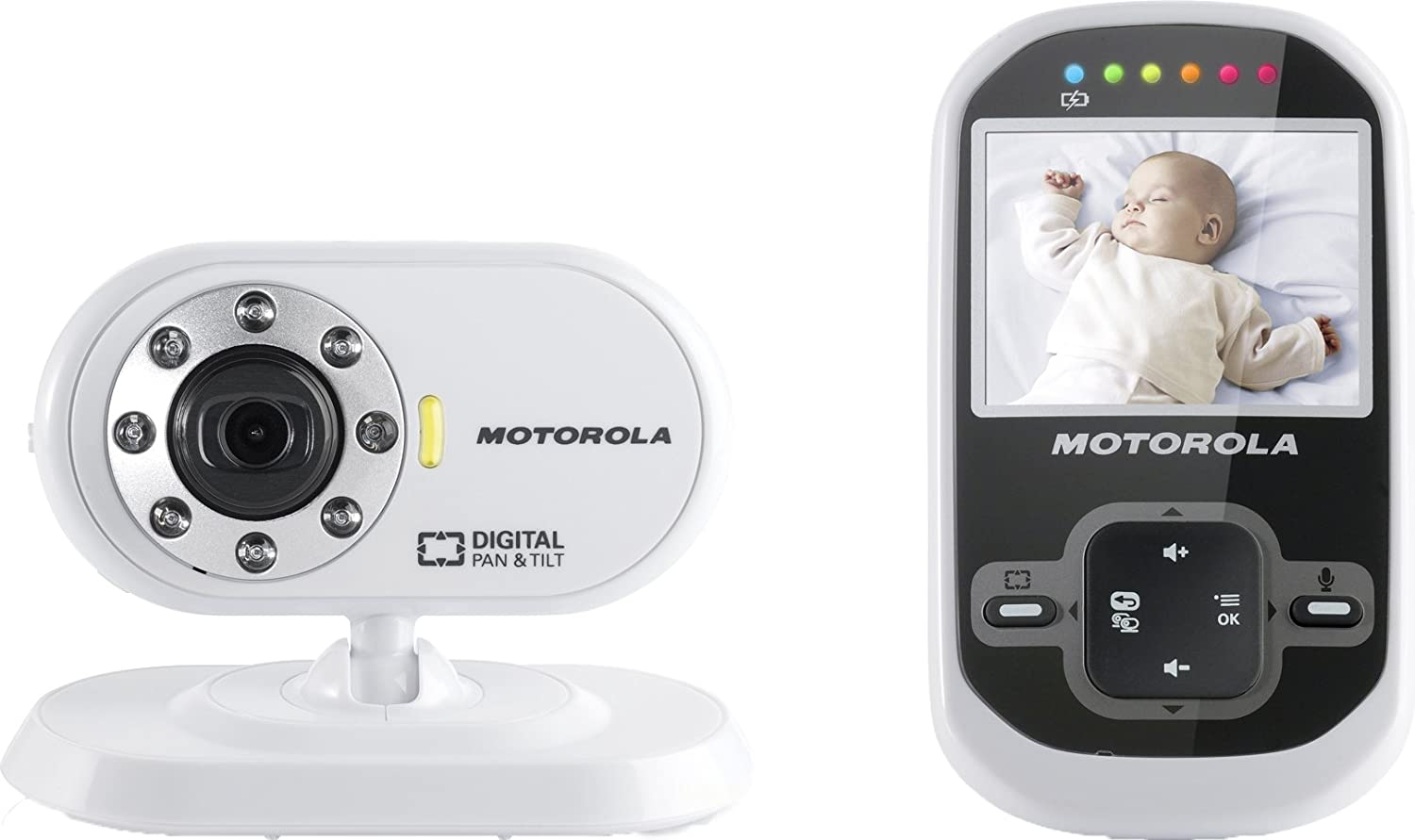 motorola mbp26 digital video baby monitor ebay. Black Bedroom Furniture Sets. Home Design Ideas