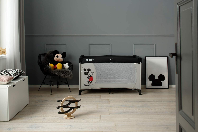 Hauck Disney Dream N Play Travel Cot Mickey Stars