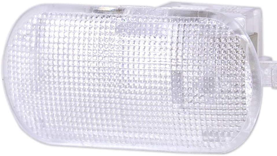 DishyKooker Guante Caja Luz Compartimento de Almacenamiento L/ámpara 1J0 947 301 para Pa-ssat B5Po-lo Tou-ran AutoAccessory
