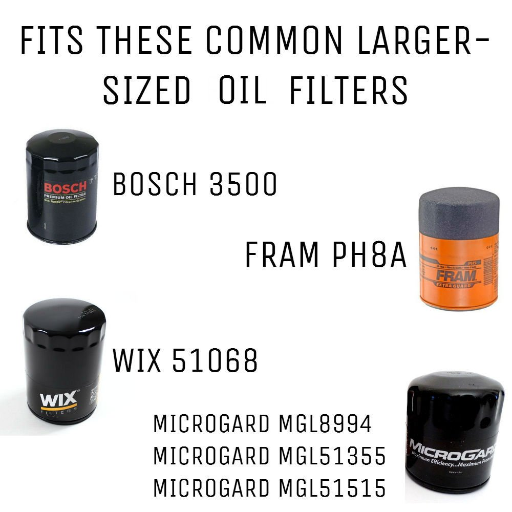 Oil filter suppressor cheap legal effective second amendment buy an oil filter to rifle barrel adapter here nvjuhfo Image collections