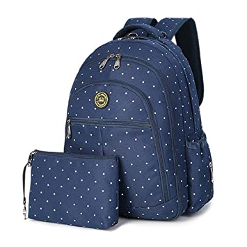 Amazon.com : YuHan Baby Diaper Travel Backpack Insulation Bag Carry Pouch Fit Stroller Blue Dot : Baby