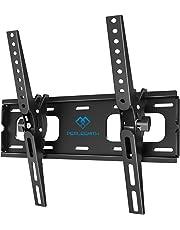 Supporto TV Inclinabile - Staffa da Parete per TV da 26-55 Pollici, Max VESA 400x400, Staffa Ultra Resistente 60 kg