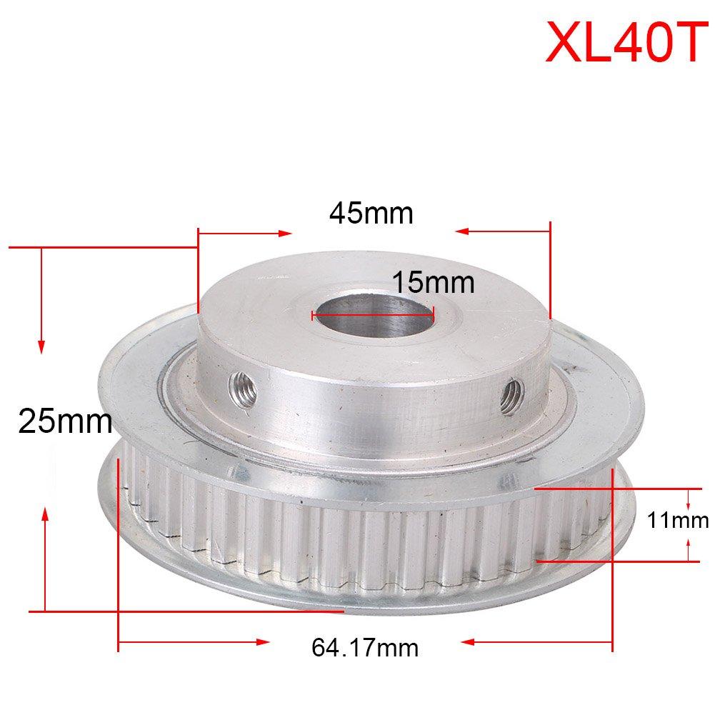 Amazon.com: Luckmart - Polea de aluminio para impresora 3D ...