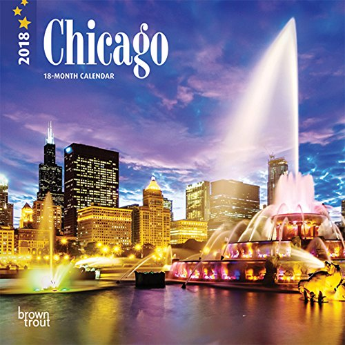 Chicago Mini (Chicago 2018 7 x 7 Inch Monthly Mini Wall Calendar (Multilingual Edition))