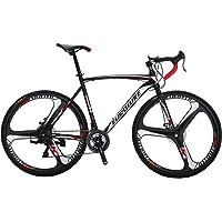EUROBIKE Road Bike XC550 21 Speed 49 Cm/54 Cm Frame 700C Wheels Road Bicycle Dual Disc Brake Bicycle