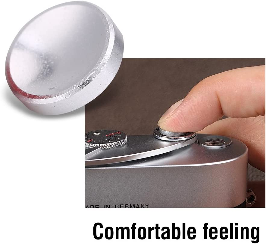 Simlug Quick Release Button Metal Release Button Universal Shutter Release Concave Buttons for Camera