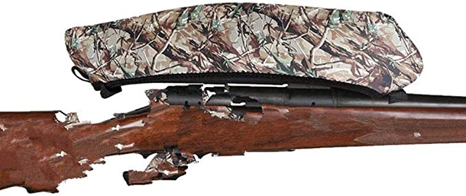 Yzki Rifle/Pistola de Aire Mira Funda Protectora, Impermeable Anti Rasguño Telescópica Funda Bolsa Escopetas Slip Estuche Funda para Tiro Caza - Camuflage, Free Size: Amazon.es: Hogar