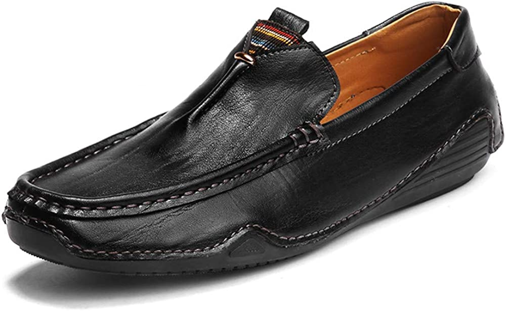 M Black-Lable 39//6 D US Men Mens Penny Loafers Slip-on Casual Driving Boat Formal Business Dress Shoes